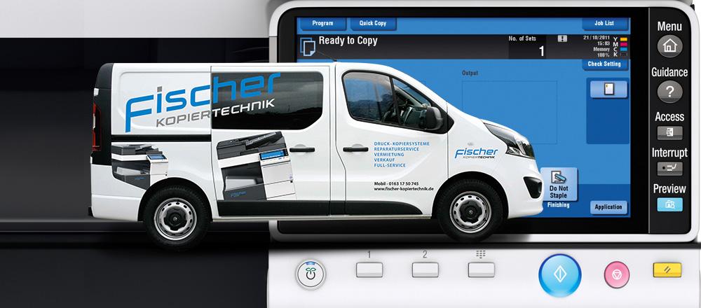 Fischer-Kopiertechnik Service-Car