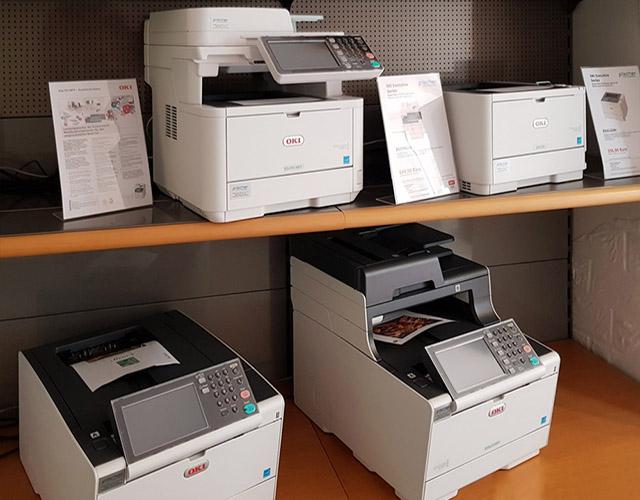 Fischer-Kopiertechnik-OKI-2019 - Produktsegment