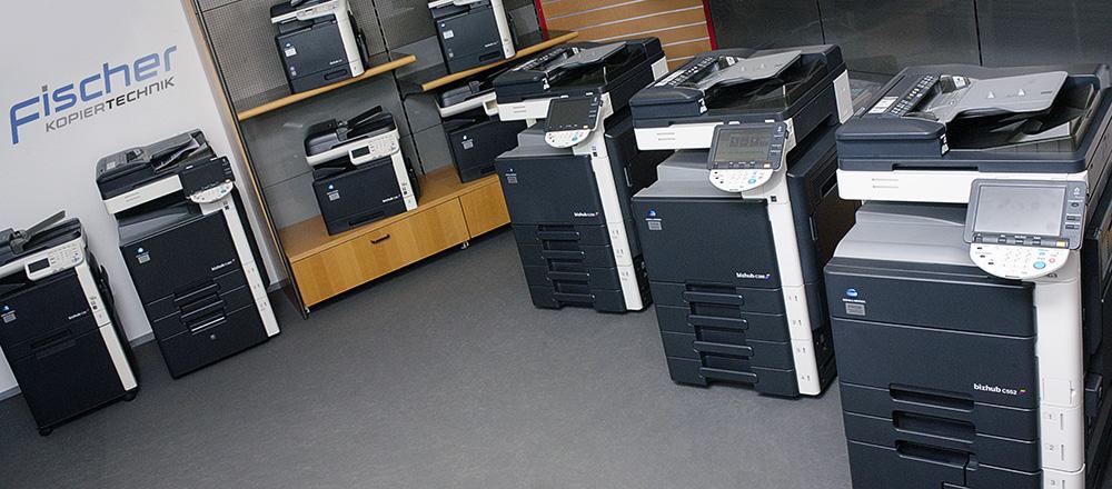 Fischer-Kopiertechnik showroom